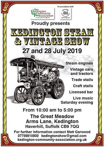 Kedington Steam Vintage Show